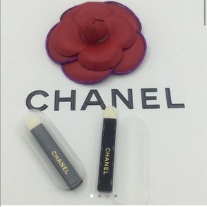 Lot 2 pc Chanel Eyeshadow Sponge Brush  2 pc